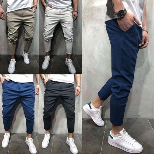 Hop Joggers Pants 2018 Trousers Mens Joggers Solid Shrink Pants