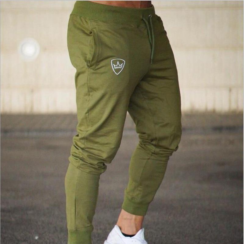 Free Hot Men Pants,fashion Slim Fit Sweat Pants pantalon homme men clothes 2018