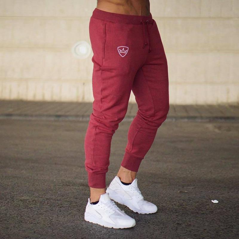 Free Hot Men Slim Sweat Pants homme men clothes