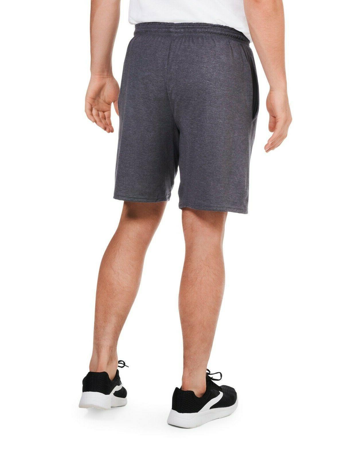 Men Pants Jersey Shorts Side Pockets