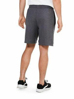 Fruit Of Men Pants Shorts Charcoal Side Pockets