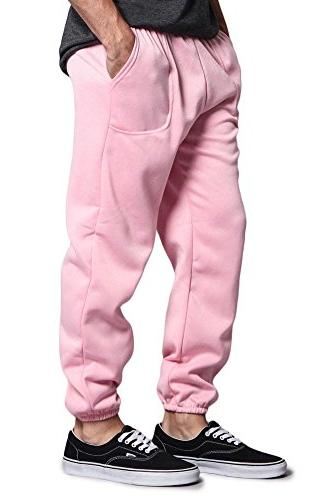Victorious Elastic Fleece Sweatpants - - PINK - Medium