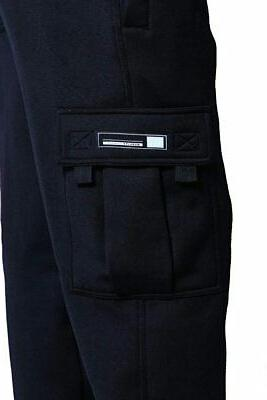 Fleece Cargo Sweatpants