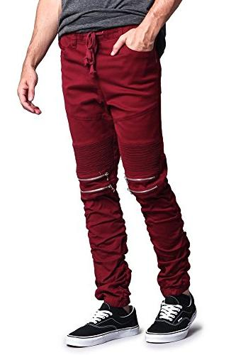 G-Style Stacked Biker Twill Jogger JG882 ; 4X-Large ;