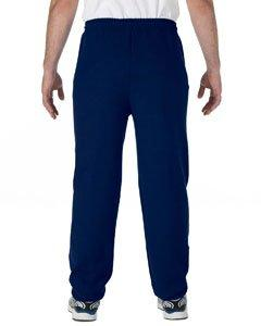 Gildan 7.75 oz. Heavy Blend 50/50 Sweatpants>M NAVY G182