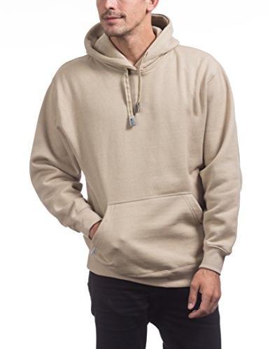 Pro Club Pullover Hoodie Small, Khaki