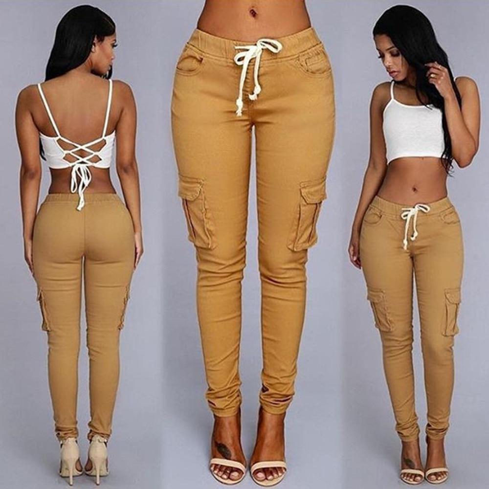 High waist Casual Black Long Pantalones De Mujer Sashes Ladies For Women