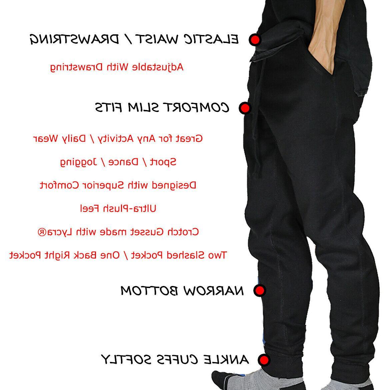 Jogger Pants Slim Sport Gym Workout Basic