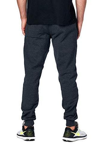ProGo Men's Joggers Basic Pant Elastic
