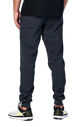ProGo Men's Joggers Sweatpants Basic Pant Waist