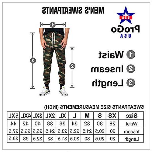 PROCUBE USA ProGo Casual Sweatpants Basic Elastic