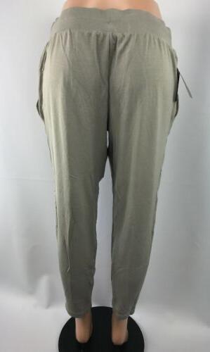 JoyLab Pant L True Khaki Sweatpants Target Joy NEW LA Edge