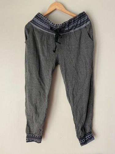 junior womens sweat lounge wear pants sleepwear