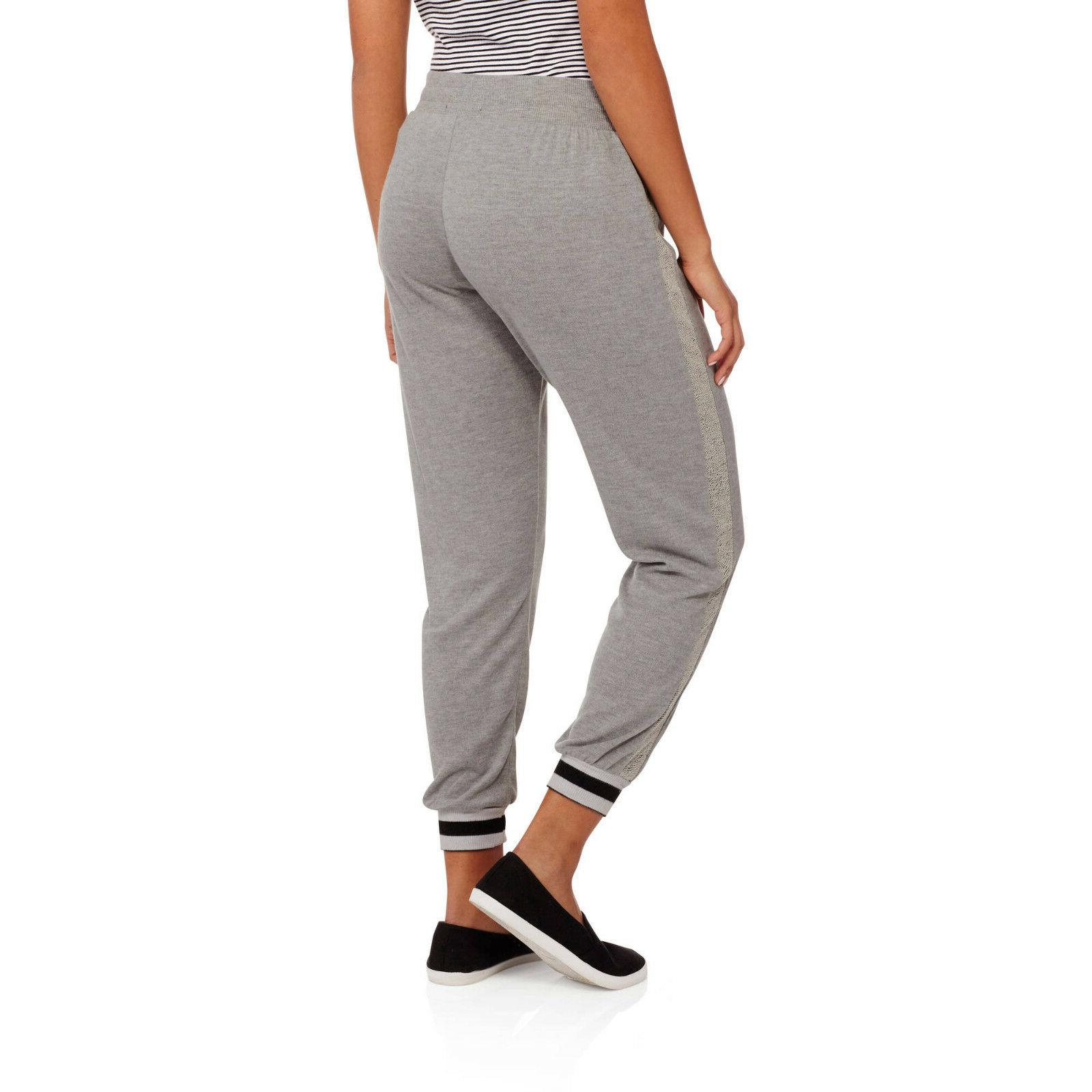Eye Candy Juniors' Cozy Brushed French Jogger Sweatpants w/ Sporty