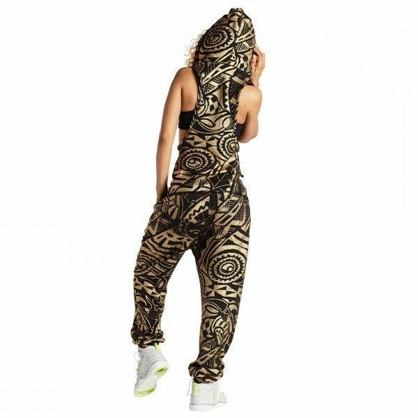 ZUMBA Makes Me Shine Dance Sweatpants So 100% Cotton! $59 XS XL