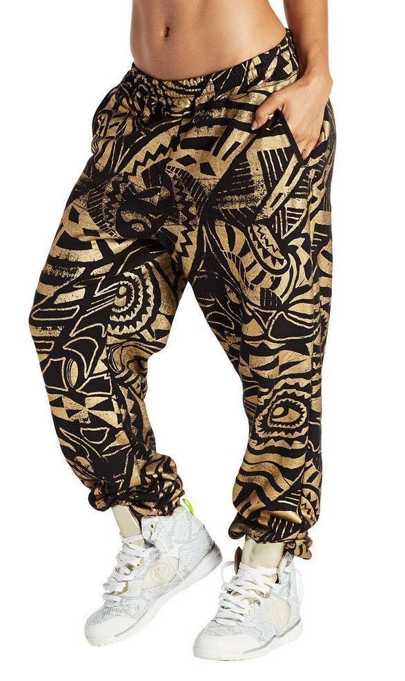 ZUMBA Makes Me Shine Dance Sweatpants So soft! 100% Cotton!
