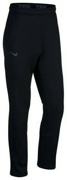 NIKE Men's $55 THERMA Fleece Pants 2 Pockets NEW 932253-010