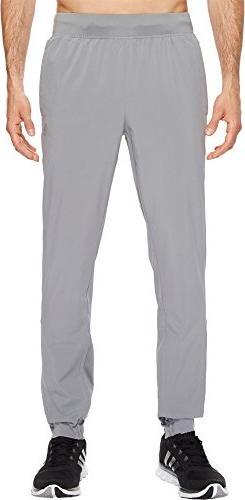 adidas Men's Athletics Sport Id Woven Pants, Grey Three, Lar