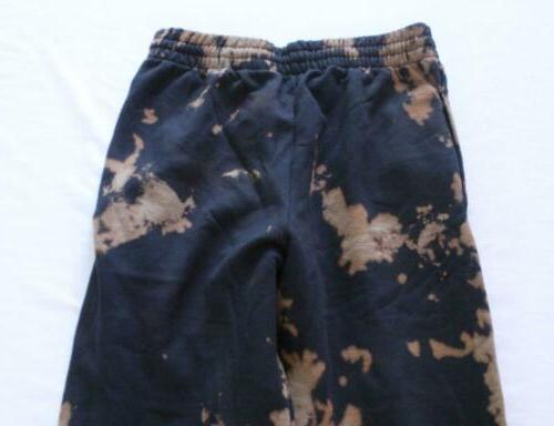 Fruit Men's Dyed Sweatpants SV3 Black