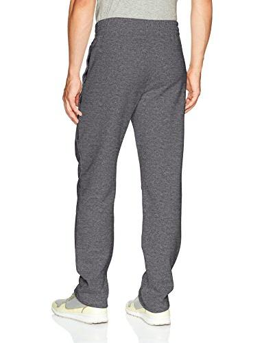 Russell Rich Open Sweatpants Pockets, Charcoal Grey Heather, L