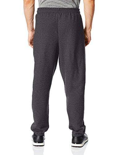 Hanes Men's EcoSmart Fleece Sweatpant , Charcoal 3XL