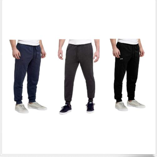 men s essential french terry sweatpants ribbed