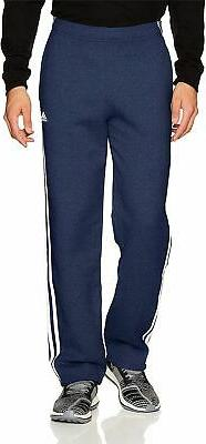 adidas Men's Essentials 3 Stripe Regular Fit Fleece Pants -