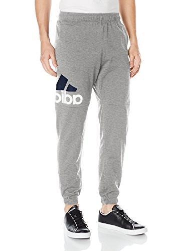 men s essentials performance logo pants medium