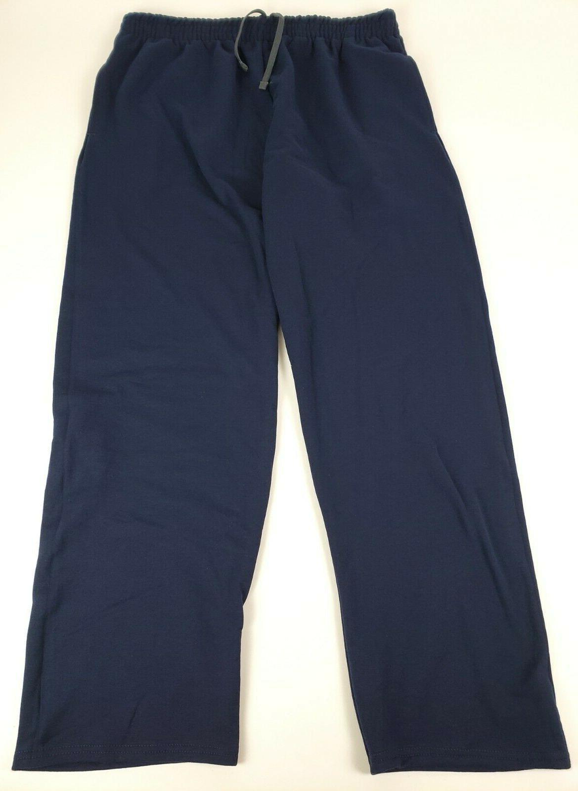 men s fleece sweatpants drawstring navy x