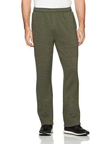 men s fleece sweatpants olive heather x