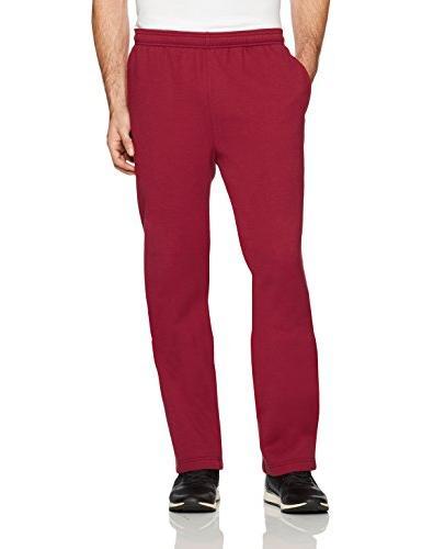 men s fleece sweatpants red xx large