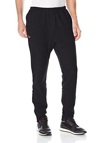 men s french terry jogger black x