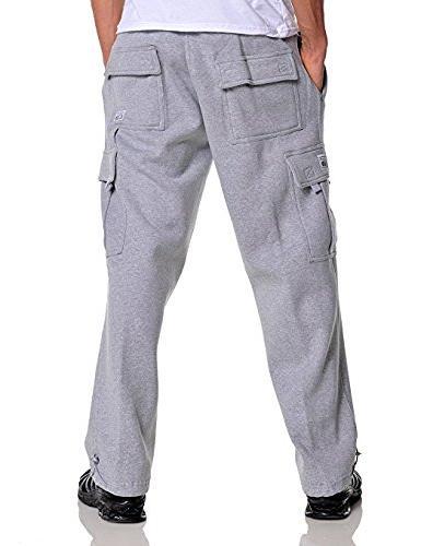 Pro Club Sweatpants 13.0oz 60/40 3XL Grey