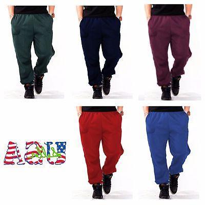 Men's Pants Fitness Casual Fleece SweatPants NEW