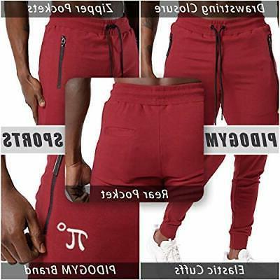 Men's Pants Running Sweatpants Workout Trousers