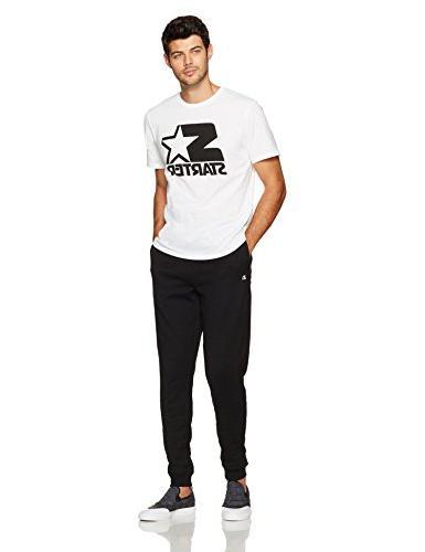 Starter Jogger Sweatpants with Amazon Black, NOT