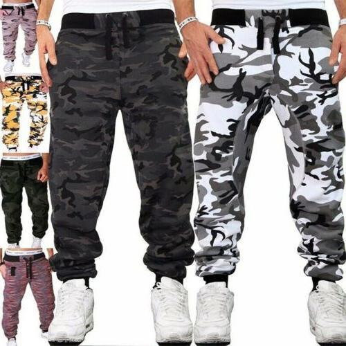 Men's Jogging Pants Casual Training Pants Camouflage Pants S