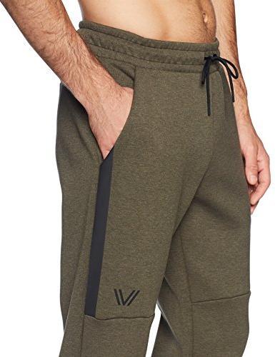 Peak Velocity Fleece Own' Jogger , green heather,