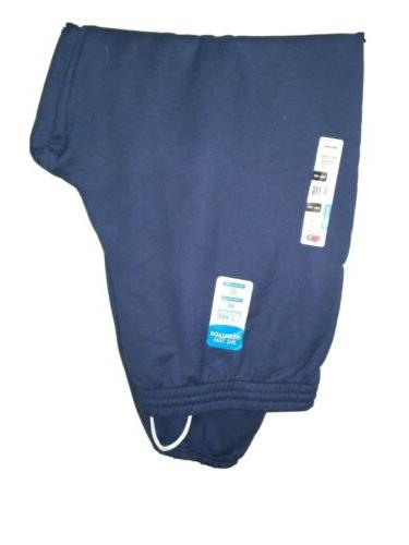 men s navy blue fleece 2 pocket