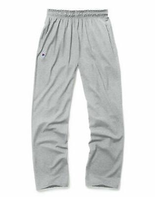 Champion Men's Open Bottom Jersey Pants w/ Pockets