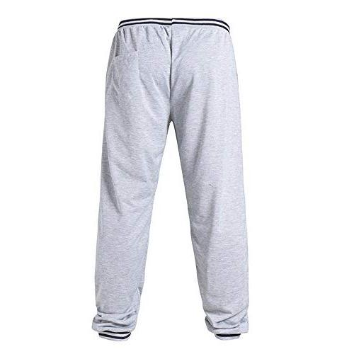 Zarachielly Bottom Light Weight Pants Athletic Sweatpants Pockets Waistband