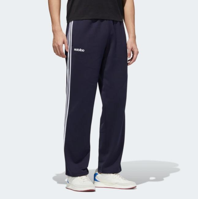 adidas Men's Essentials 3-Stripes Fleece Activewear Joggers