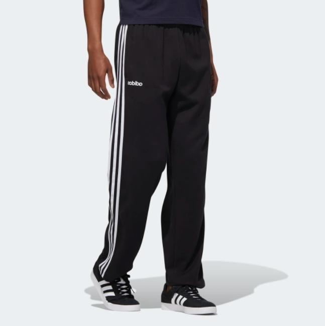 men s pants essentials 3 stripes fleece