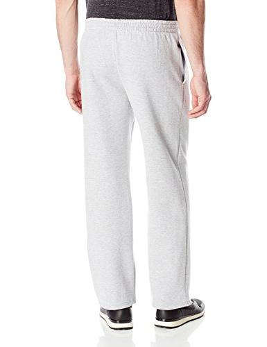 Fruit the Men's Pocketed Open-Bottom Sweatpant, Athletic Heather,