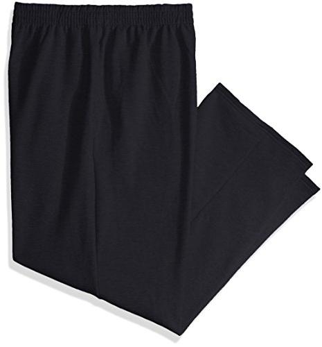 men s pocketed open bottom sweatpants 2