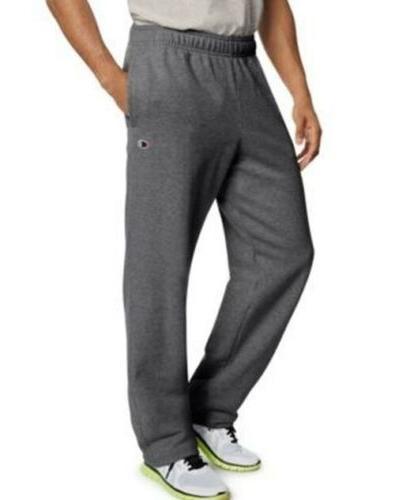 Champion Powerblend Fleece Open Bottom Sweat Pants -