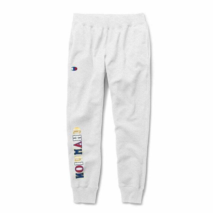 Champion Men's Jogger's Sweatpants Bottom ENGLISH Logo
