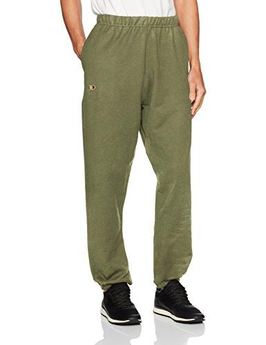 men s reverse weave pants with pockets