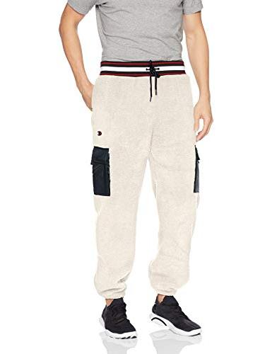 men s sherpa utility pant quartz cream