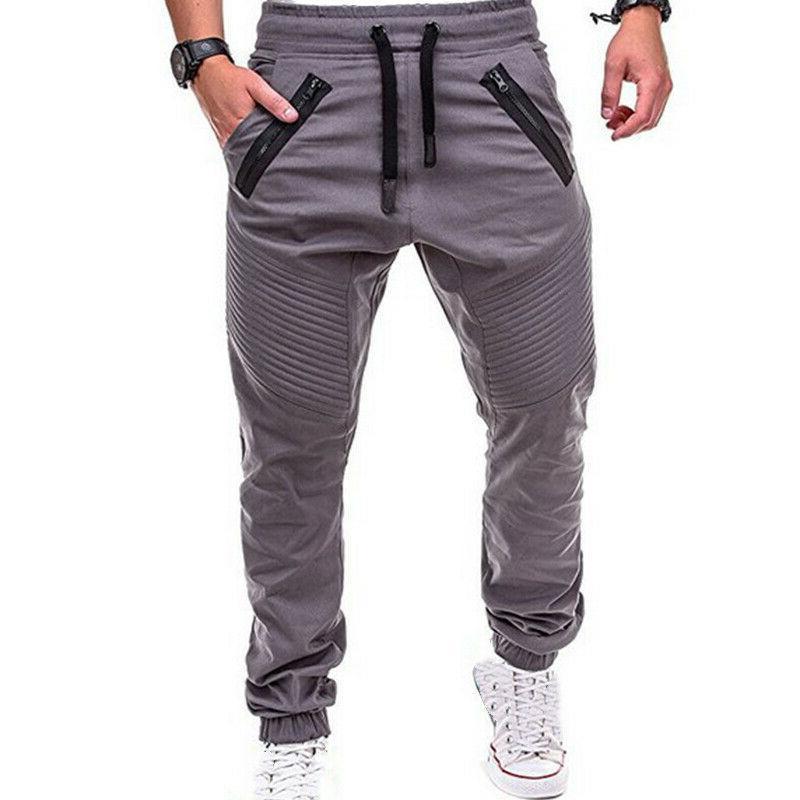Men's Trousers Cargo Sport Casual Pants Sweatpants